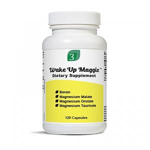 Wake Up Maggie (Magnesium) 120 Capsules - Organic3