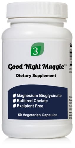 Good Night Maggie - 60 Capsules - Organic3