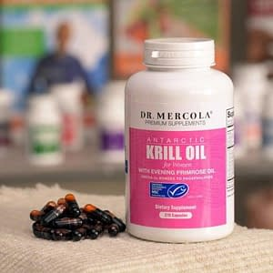 Krill Oil for Women, 270 Licaps Capsules - Dr. Mercola