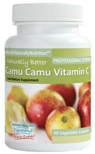 Camu Camu Vitamin C, 90 Caps - Good Health Naturally