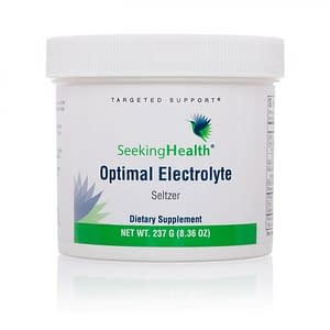 Optimal Electrolyte Powder - 237g - Seltzer - Seeking Health - Out of stock