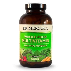 Whole Food Multivitamin Plus - 240 Tablets - Dr Mercola - SOI*