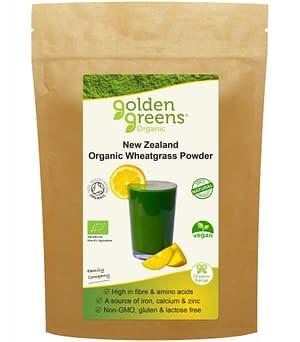 Wheatgrass Powder (Organic) - 100g - Golden Greens (Greens Organic)