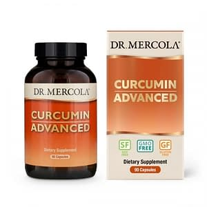Curcumin Advanced, 500 mg, 90 Capsules - Dr Mercola - SOI*