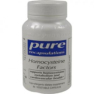 Homocysteine Factors, 60 veg caps - Pure Encapsulations