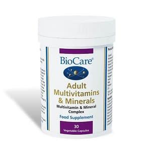 Adult Multivitamins & Minerals 30 Capsules - Biocare